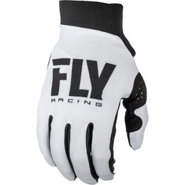 Fly Racing Youth Girls Pro Lite Gloves White