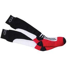 Red Alpinestars Road Racing Summer Socks