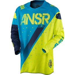 Answer Mens Limited Edition Elite Halo MX Motocross Riding Jersey Blue