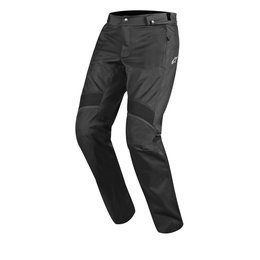 Black Alpinestars Mens Oxygen Air Textile Riding Overpants 2014
