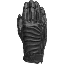 RSD Womens Gezel Leather Riding Gloves Black