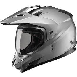 GMax GM11D Dual Sport Helmet Grey