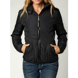 Fox Racing Womens Sonar Puffer Jacket Black