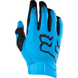 Fox Racing Mens MX Airline Moth Gloves Blue