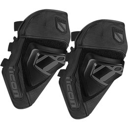 Black Icon Cloverleaf Knee Guards 2015 Pair