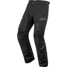 Alpinestars Mens Valparaiso 2 Drystar Lined Armored Textile Riding Pants Black