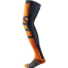 Fox Racing Mens Proforma Knee Brace Sock Each Orange