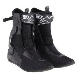 Alpinestars Mens Tech 10 Replacement Inner Booties Boot Liners Pair Black