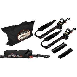 Drop-Tail Premium Powersports Tie-Down Kit Black Universal