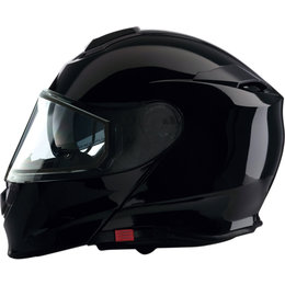 Z1R Solaris Modular Snowmobile Helmet With Dual Pane Shield Black