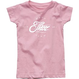 Thor Toddler Girls Runner Crew Neck T-Shirt Pink
