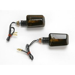 K&S Technologies Marker Lights Mini Stalk Black/Smoke
