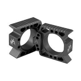 Hammerhead Axle Blocks Black For Honda CRF250R CRF450R 2009-2014