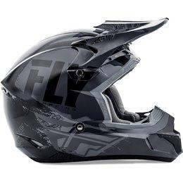 Fly Racing Kinetic Burnish Helmet Grey