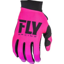 Fly Racing Youth Girls Pro Lite Gloves Pink