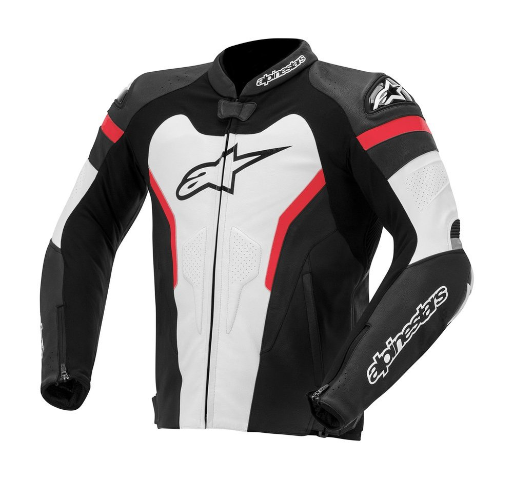 Alpinestars leather motorcycle jacket