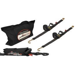 Drop-Tail Premium Utility Tie-Down Kit Black Universal
