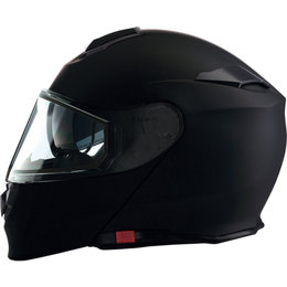Z1R Solaris Modular Snowmobile Helmet With Dual Pane Shield Black