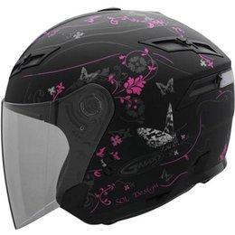 GMax GM67 Butterfly Helmet Pink