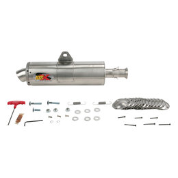 Supertrapp IDSX Exhaust System Stainless Steel For Arctic Cat 400/500