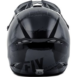 Fly Racing Kinetic Burnish Helmet Grey