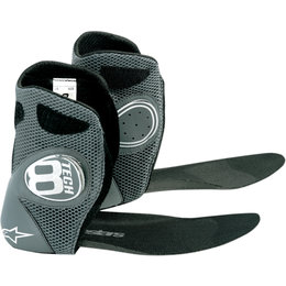 Alpinestars Mens Tech 8 Light Replacement Inner Booties Boot Liners Pair Black
