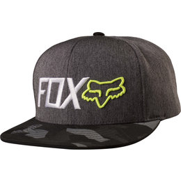 Fox Racing Mens Obsessed Adjustable Snapback Hat Black