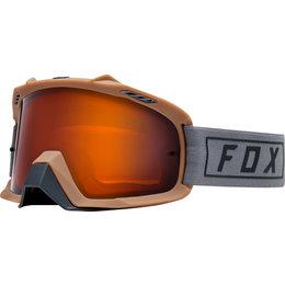Fox Racing Airspace Enduro Goggles Grey Orange Orange