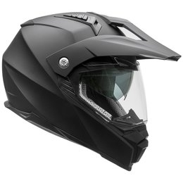 Vega Cross Tour 2 Dual Sport Street Offroad Helmet With Visor And Shield Black