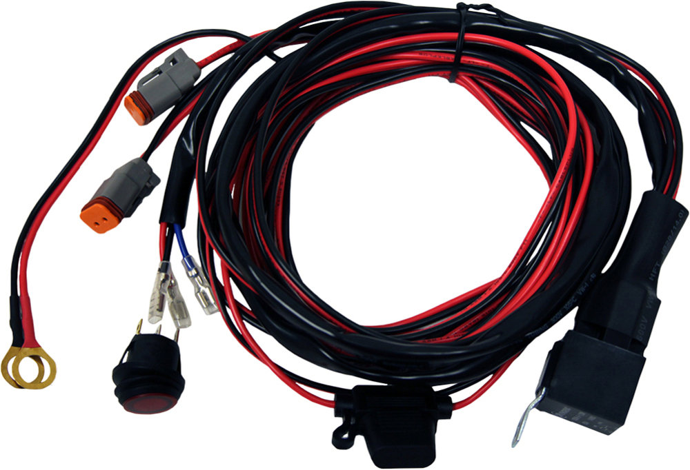 29 99 rigid d2 series 14 foot long wire harness pair red Wire Harness Connectors 512229 partsrigid20172februarywp 652 40196jpg 1000 1000