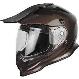 Just1 J14 J-14 DS Dual Sport Adventure Helmet Brown