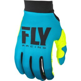 Fly Racing Youth Girls Pro Lite Gloves Blue