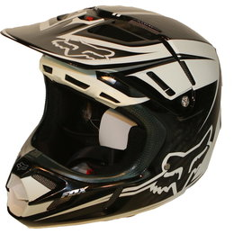 Fox Racing V4 Flight Helmet Multicolored