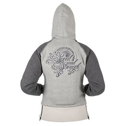 Speed & Strength Womens American Beauty Armored Hoody 2015 Grey