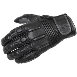 Scorpion Mens Bixby Leather Gloves Black