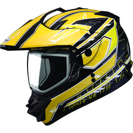 Yellow Gmax Mens Gm11s Gm 11s Nova Snow Sport Helmet 2013