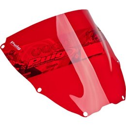 Puig Racing Windscreen Red For Honda RC51 VTR1000 2000-2005