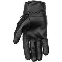 Black Brand Womens Cool Rider Mesh Gloves Black