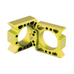 Hammerhead Axle Blocks Gold For Suzuki RM-Z250 RM-Z450 RMZ250 RMZ450