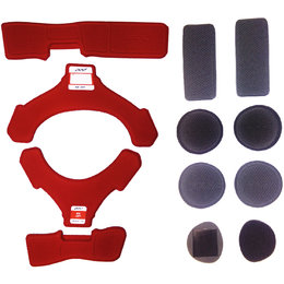 Pod K4 Knee Brace MX Pad Set Red