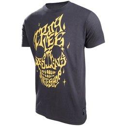 Troy Lee Designs Mens Mind Melt Cotton Graphic T-Shirt Black