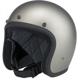 Titanium Biltwell Mens Bonanza Open Face Helmet 2014