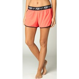 Fox Racing Womens Vicious Solid Active Shorts Red