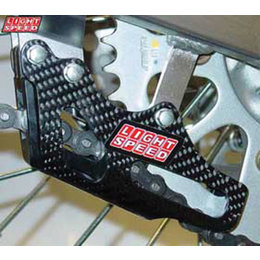 Lightspeed Carbon Chain Guide Cover Carbon Fiber For Honda CRF150R 07-11