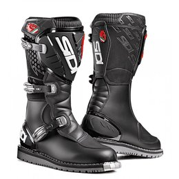 Sidi Mens Discovery Rain Offroad Motocross Riding Boots Black