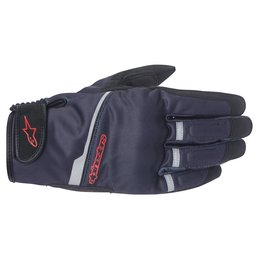 Black, Red Alpinestars Mens Haku Softshell Textile Gloves 2015 Black Red