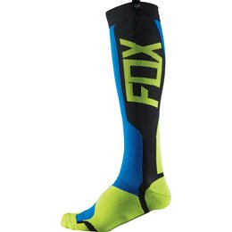 Fox Racing Mens MX Tech Riding Socks Pair Blue