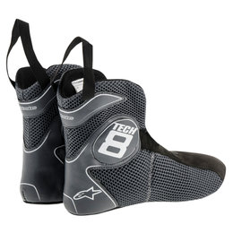 Alpinestars Mens Tech 8 Light 2015 Replacement Inner Booties Boot Liners Pair Black