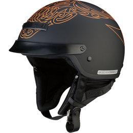 Z1R Nomad Tribal Half Helmet Black
