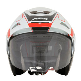 AFX FX-50 FX50 Signal Open Face Helmet Red